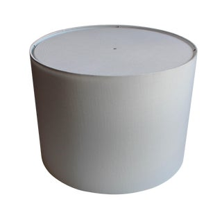Large Linen Drum Shade w/ Diffuser