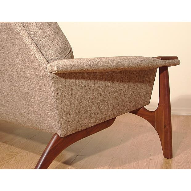 1960s Adrian Pearsall Craft Associates Mid-Century Danish Modern Sofa - Image 8 of 9
