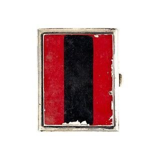 Sterling Art Deco Business Card Case