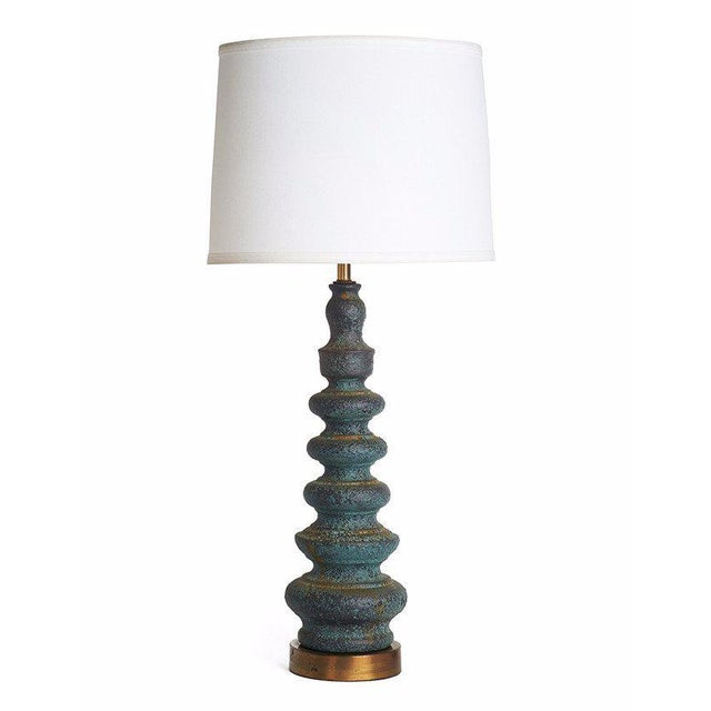 Mid-Century Italian Ceramic Table Lamp - Image 1 of 2