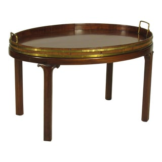 19th Century Regency Butler's Tray Table