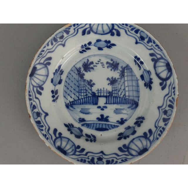 Antique Dutch Delft Chinoiserie Plates- A Pair - Image 5 of 7