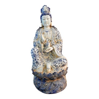 Blue & White Porcelain Quan Yin