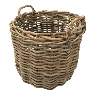 Boho Chic Bamboo Basket