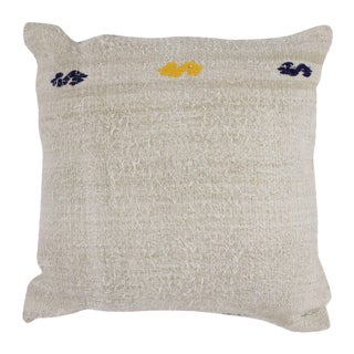 "Hemp Kilim Pillow 24"" x 24"""