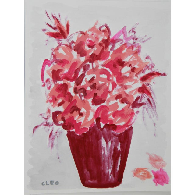 Abstract Floral Bouquet by Cleo - Image 2 of 3