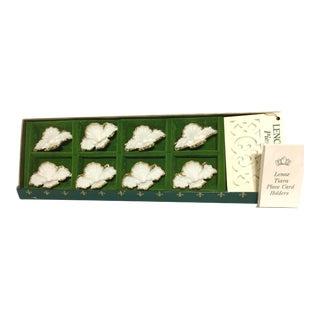 Vintage Lenox Tiara Place Card Holders - Set of 8