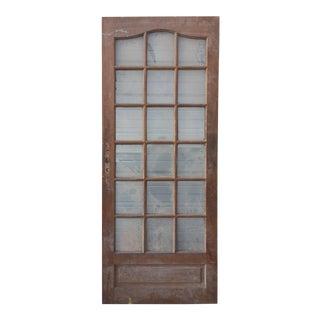 French Mahogany Door