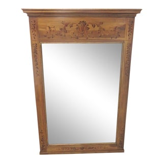 John Widdicomb Paint Decorated Mirror