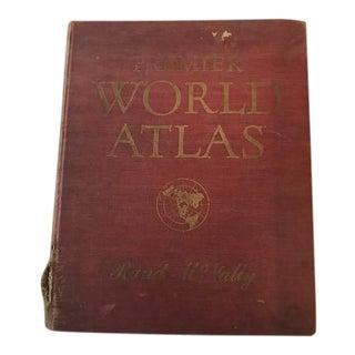 1952 Rand McNally World Atlas Library of Congress Map