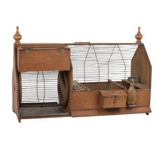 Rare 19th Century Squirrel Cage