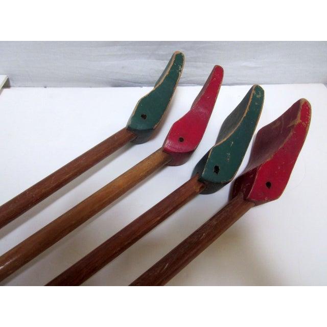1940s Folk Art Shuffleboard Sticks - Image 8 of 8