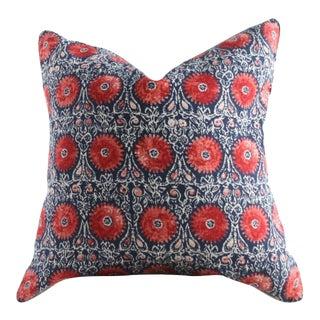 Riya Suzani Medallion Pillow