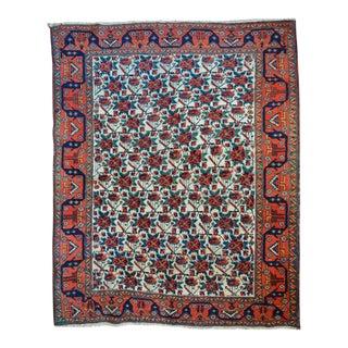 "Antique Persian Afshar Rug - 4'8"" X 5'9"""