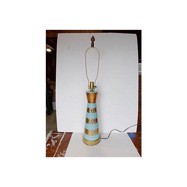 Image of Midcentury Ceramic Table Lamp