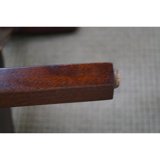 Madison Square Mahogany Chippendale Tables - Pair - Image 4 of 10
