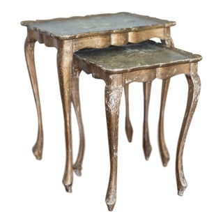 Italian Nesting Tables - A Pair