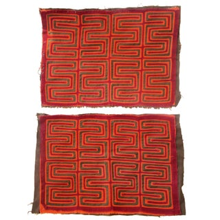 Hand-Crafted Ethnographic Textiles - A Pair