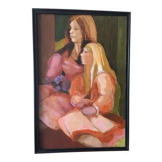Oil on Canvas Framed Signed