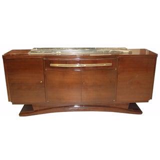 French Art Deco Macassar Ebony Buffet