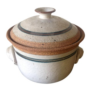 Mid-Century Handcrafted Steam Pot