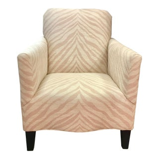Thomasville Beverly Chair Zebra