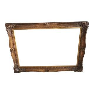Gilded Wooden Large Frame