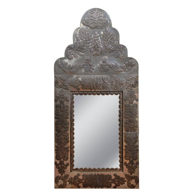 Image of Vintage Anglo-Indian Mirror