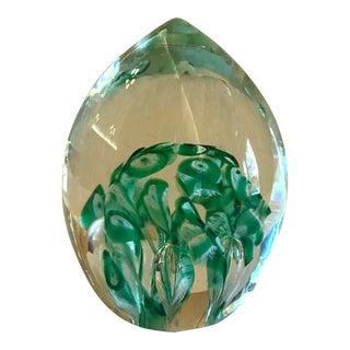 Mid-Century Murano Art Glass Paperweight