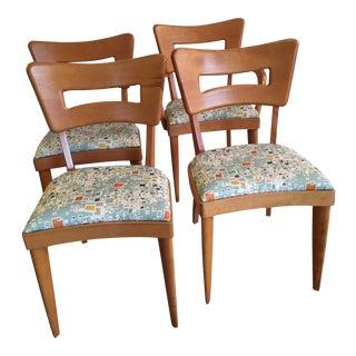 Heywood-Wakefield Dog Bone Chairs - Set of 4