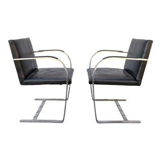 Mies Van Der Rohe Brno Chairs - A Pair
