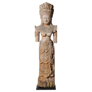 SOUTHEAST ASIAN APSARA FIGURE