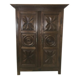 19th C. Fench Walnut Armoire