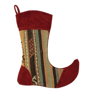 Kilim Christmas Stocking | Julianna