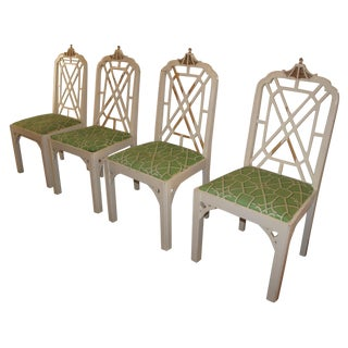 Pagoda Dining Chairs - Set of 4