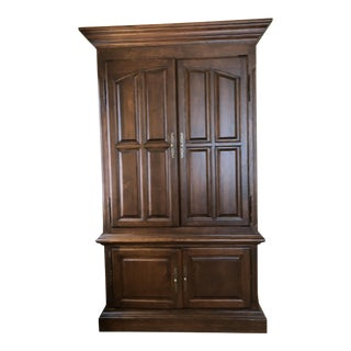 Century Furniture Walnut Armoire