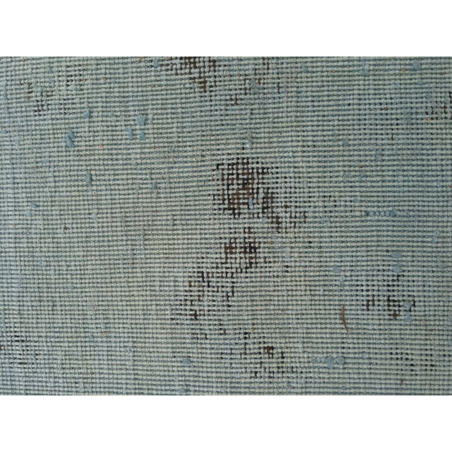 """Overdyed Distressed Persian Rug - 9' X 10'4"""" - Image 9 of 10"""