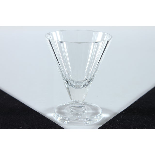 Crystal Cordial Glasses with Round Base - Set of 6 - Image 3 of 3