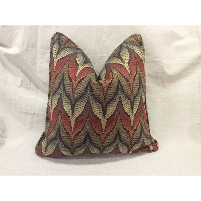 Tapestry Upholstered Pillow - Image 2 of 7
