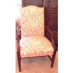Image of Rose Cummings Ribbon Chintz Upholstered Armchair