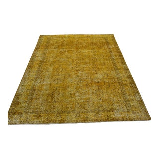 Ori̇ental Overdyed Turki̇sh Rug - 7′2″ X 10′7″