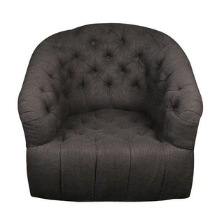 Low Button Lounge Chair