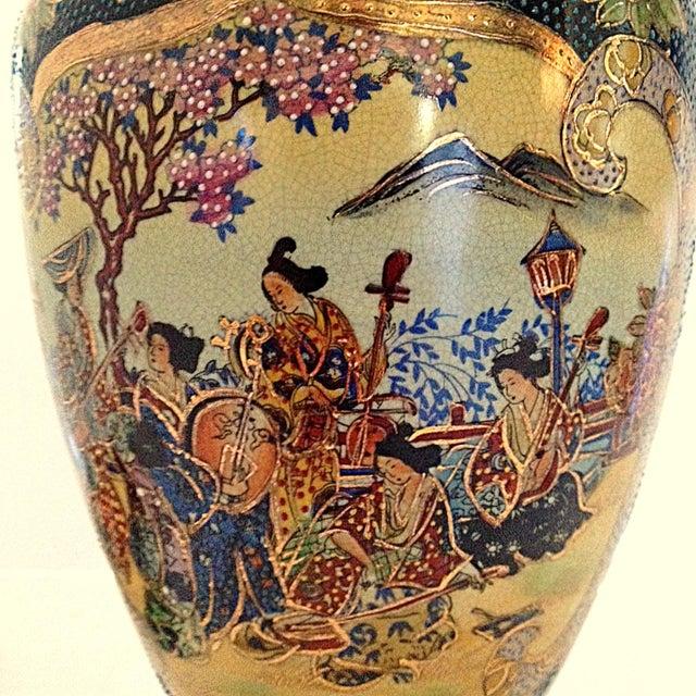 Image of Japanese Satsuma Vase