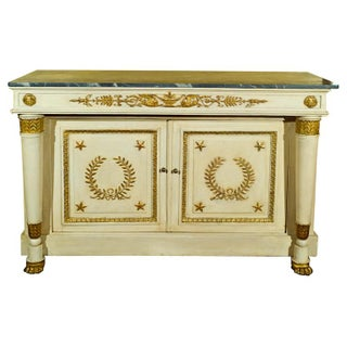 19th-C. Swedish Giltwood Commode