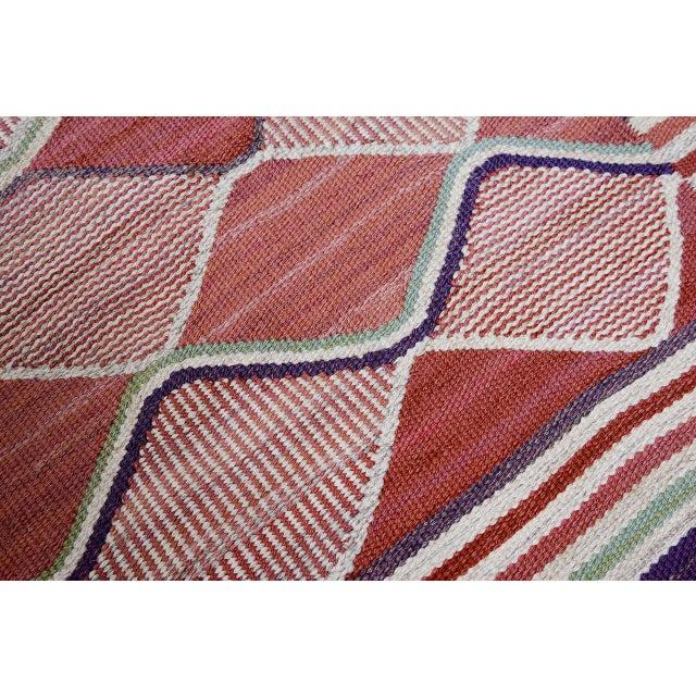 Vintage Barbro Nilsson Flat-Weave Swedish Carpet for Marta Maas-Fjetterström - Image 8 of 10