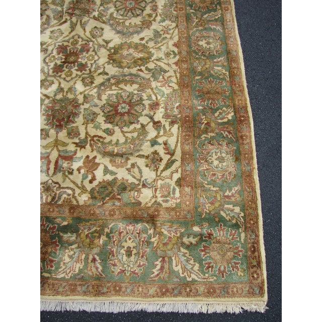 Indian Japour Area Rug - 7′10″ × 10′2″