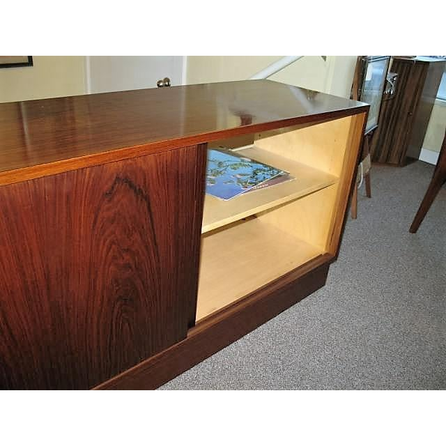 Circa 1970s Danish Rosewood Console - Image 5 of 5