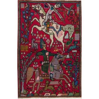 """Apadana - Persian Tabriz Rug, 3'2"""" x 4'10"""""""