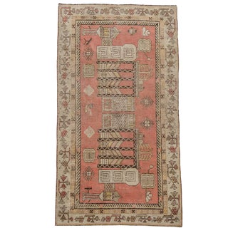 "Antique Khotan Rug - 53"" X 98"""