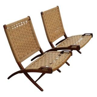 MCM Hans Wegner Chairs - A Pair